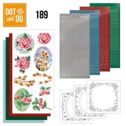(DODO189)Dot and Do 189 - Jeanine's Art - Winter Flowers