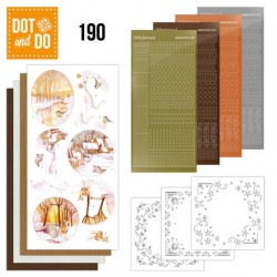 (DODO190)Dot and Do 190 - Jeanine's Art - Yellow Forest
