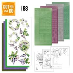 (DODO188)Dot and Do 188 - Jeanine's Art - Purple Christmas Baubles
