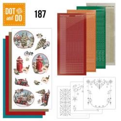 (DODO187)Dot and Do 187 - Amy Design - Nostalgic Christmas - Christmas Train