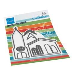 (CR1520)Craftables Church by Marleen