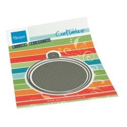 (CR1523)Craftables Cross stitch Circle S