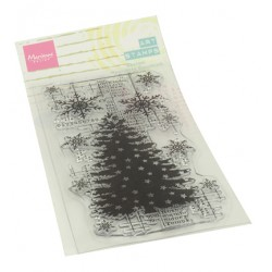 (MM1634)Art stamps Christmas Tree