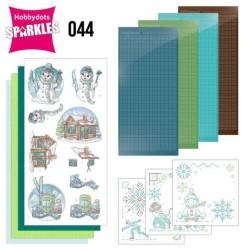 (SPDO044)Sparkles Set 44 - Yvonne Creations - Wintertime - Ski
