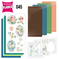 (SPDO045)Sparkles Set 45 - Jeanine's Art - The Colors of Winter - Pink Winter Flowers