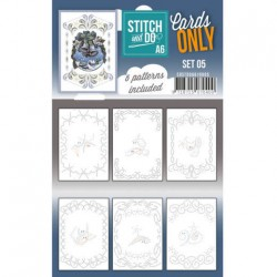 (COSTDOA610005)Cards Only Stitch A6 - 005