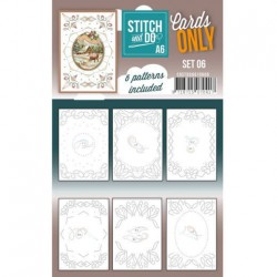(COSTDOA610006)Cards Only Stitch A6 - 006