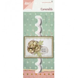 (6002/1545)Cutting embossing dies Esmeralda border