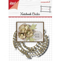 (6002/1515)Cutting dies Notebook circles