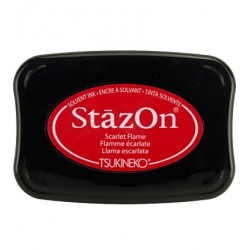 (SZ-025)Tampon encreur StazOn Scarlet Flame