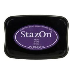 (SZ-014)Tampon encreur StazOn Plum