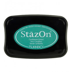 (SZ-055)Tampon encreur StazOn Carribean Green