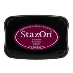 (SZ-026)Tampon encreur StazOn Bordeaux