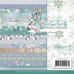 (YCPP10034)Paperpack - Yvonne Creations - Winter Time