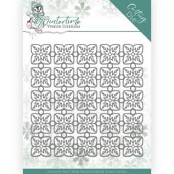 (YCD10214)Dies - Yvonne Creations - Winter Time - Snowflake Pattern