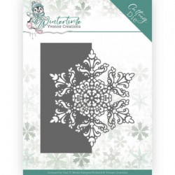 (YCD10215)Dies - Yvonne Creations - Winter Time - Snowflake Border
