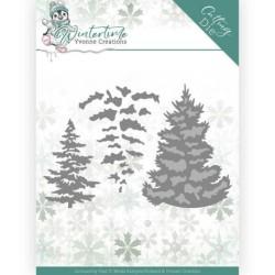 (YCD10216)Dies - Yvonne Creations - Winter Time - Pine Tree