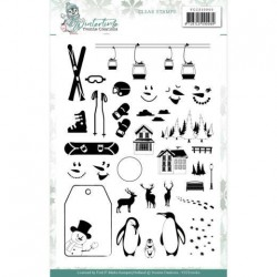 (YCCS10060)Clear Stamps - Yvonne Creations - Winter Time