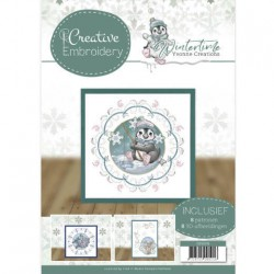 (CB10019)Creative Embroidery 19 - Yvonne Creations - Winter Time