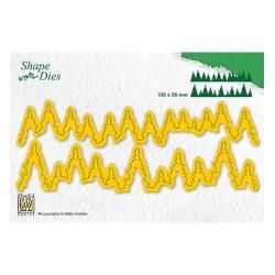 (SD184)Nellie's Shape Dies pine forest