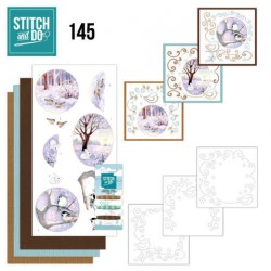 (STDO145)Stitch and Do 145 - Jeanine's Art - Winter Landscape