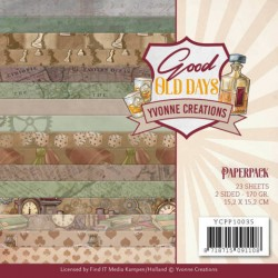 (YCPP10035)Paperpack - Yvonne Creations - Good old day's