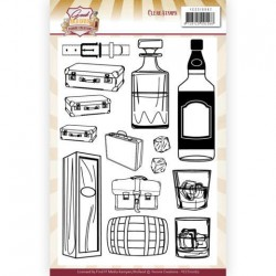 (YCCS10062)Clear Stamps - Yvonne Creations - Good old day's - Whiskey