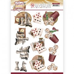 (SB10507)3D Push Out - Yvonne Creations - Good old day's - Games