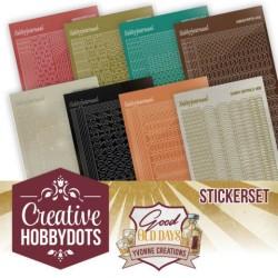 (CHSTS008)Creative Hobbydots 8 - Sticker Set