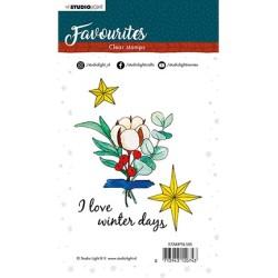 (STAMPSL505)Studio light Stamp Winter's Favourites - nr.505