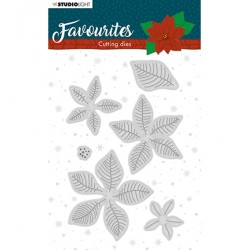 (STENCILSL331)Studio Light Cutting and Embossing Die Winter's Favourites - nr.331