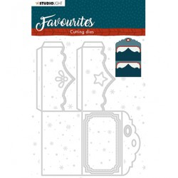 (STENCILSL339)Studio Light Cutting and Embossing Die Winter's Favourites - nr.339