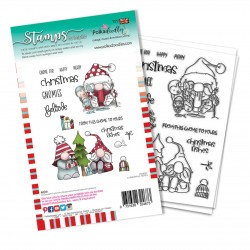 (PD8097A)Polkadoodles Christmas Fishes Clear Stamps