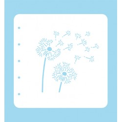 (COLST011)Nellies Choice Stencil Dandelion- for MSTS001