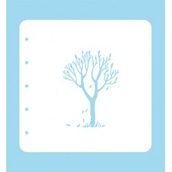 (COLST012)Nellies Choice Stencil Tree- for MSTS001