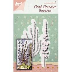 (6002/1565)Cutting dies Noor - Floral Flourishes - Branches