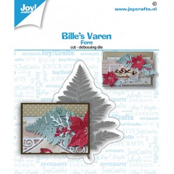 (6002/1568)Cutting embossing dies Bille's Varen Fern