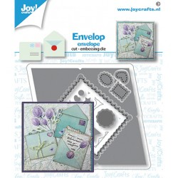 (6002/1606)Cutting embossing dies Envelop