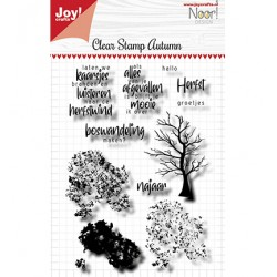 (6410/0525)Clear stamp Noor - Autumn Tree
