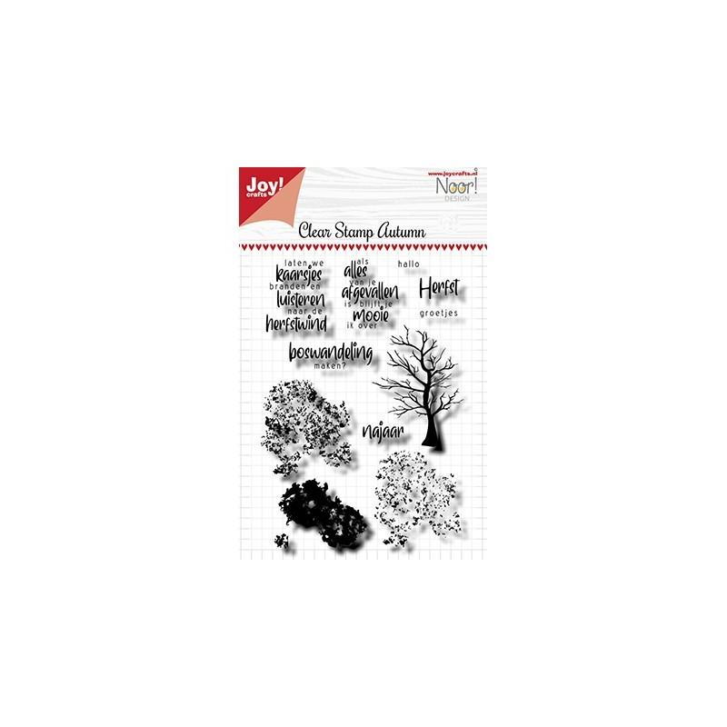(6410/0525)Clear stamp Noor - Autumn Tree