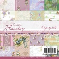 (PMPP10029)Paperpack - Precious Marieke - Pretty Flowers