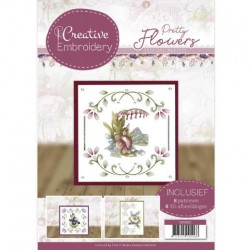 (CB10020)Creative Embroidery 20 - Precious Marieke - Pretty Flowers