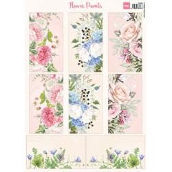 (VK9592)3D Flower Panels
