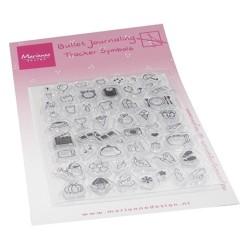 (MZ1909)Clear stamp Marjoleine's Bujo - Tracker symbols