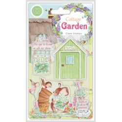 (CCSTMP030)Craft Consortium Cottage Garden The Potting Shed Stamps