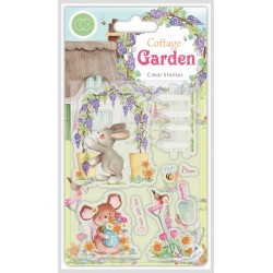 (CCSTMP032)Craft Consortium Cottage Garden Green Fingers Stamps