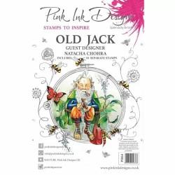(PI064)Pink Ink Designs Clear stamp Old Jack