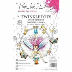 (PI065)Pink Ink Designs Clear stamp Twinkletoes