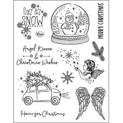 (4003 223 00)Clear Stamps - Angel Kisses