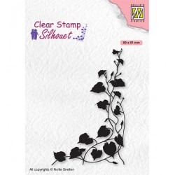 (SIL079)Nellie`s Choice Clearstamp - Silhouette Ivy